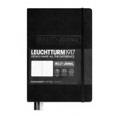 Bullet Journal Black Hardcover