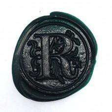 Forest green wax, pellets