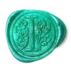 Mint green wax, pellets