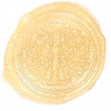 Shimmering ivory wax, pellets
