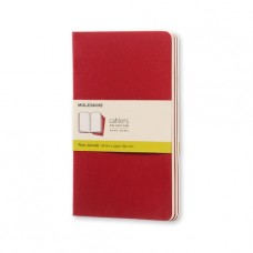 Cahier Pocket Cranberry Blank, 3 Pack