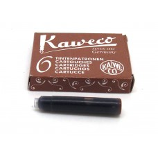 Kaweco Brown, 6 cartridges