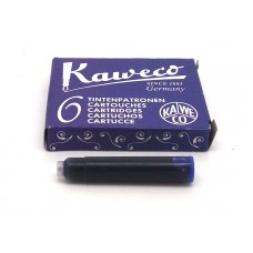 Kaweco Blue, 6 cartridges