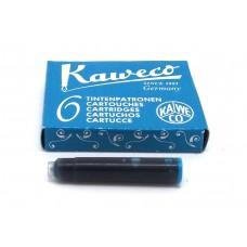 Kaweco Turquoise, 6 cartridges