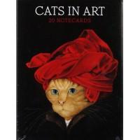 Cats In Art Notecard Set - Box