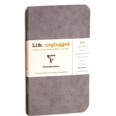 Age-Bag Duo 2 Small Notebooks - Grey