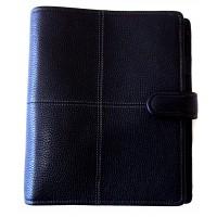 Classic Stitch Soft A5 Organiser - Black