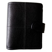 Classic Stitch Soft Pocket Organiser - Black
