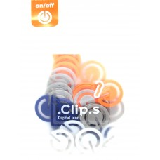Clip.s Digital Icons - On/Off Switch