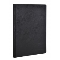 Age-Bag Clothbound A5 Black Notebook - Lined