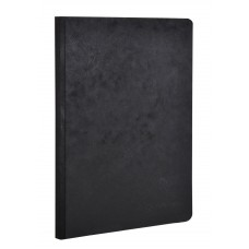 Age-Bag Clothbound A5 Black Notebook - Blank