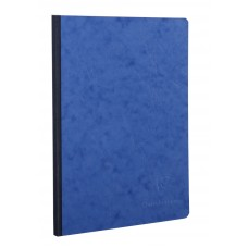Age-Bag Clothbound A4 Blue Notebook - Blank