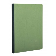 Age-Bag Clothbound A4 Green Notebook - Lined