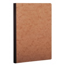Age-Bag Clothbound A5 Tobacco Notebook - Blank