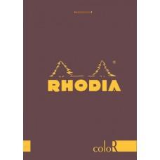 coloR Bloc Rhodia 8.5 x 12 Purple - Lined