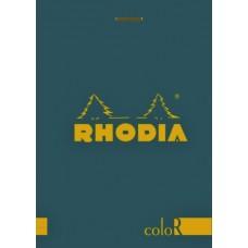 coloR Bloc Rhodia 8.5 x 12 Sapphire - Lined