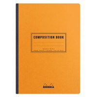 Rhodia Composition Book A5 Orange - Lined