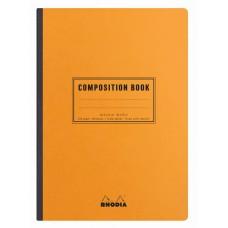 Rhodia Composition Book A5 Orange - Lined