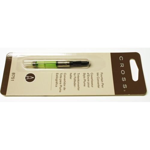 NEW Cross Push-In Style Fountain Pen Ink Converter Townsend Aventura 8751