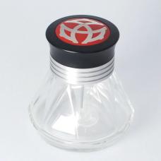 Diamond 50 ink bottle, silver