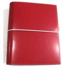 Domino A5 Organiser Red