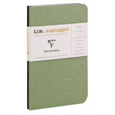 Age-Bag Duo 2 Small Notebooks - Green