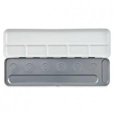 Empty metal box - 6 pan