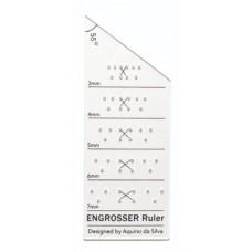 AB Calligraphy Ruler - Engrosser's