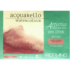 Artistico Aquarello 300gsm Hot Pressed Watercolour Pad - A4