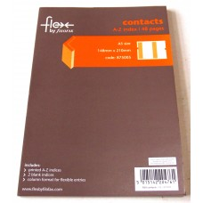 A5 Flex Notebook - Contacts