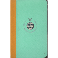 Smartbook Notebook - Pocket Ruled Mint/Yellow