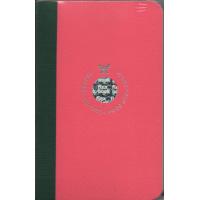 Smartbook Notebook - Pocket Ruled Pink/Green