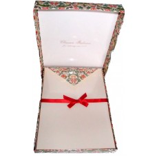 Floral Arabesque Letter Set - Box