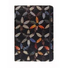 Black Flowers A5 Notebook