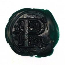 Forest green wax