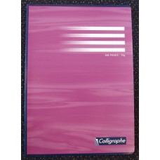French Ruled Glued Spine A4 Notebook