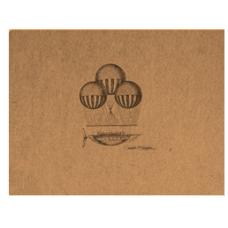 Flying Spirit A6 Sketchbook - Balloon