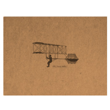 Flying Spirit A6 Sketchbook - Glider