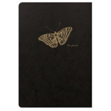 Flying Spirit A5 Lined Notebook - Butterfly