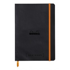 Rhodiarama Goalbook A5 Black