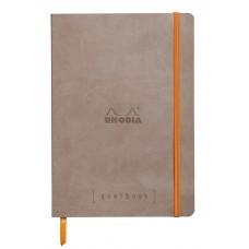 Rhodiarama Goalbook A5 Taupe