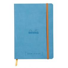 Rhodiarama Goalbook A5 Turquoise