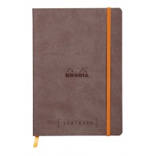 Rhodiarama Goalbook A5 Chocolate