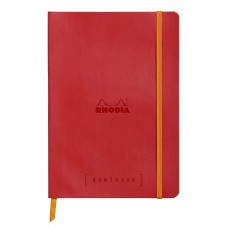 Rhodiarama Goalbook A5 Poppy
