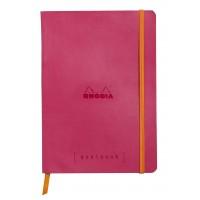Rhodiarama Goalbook A5 Raspberry
