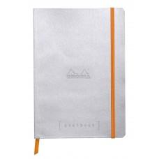 Rhodiarama Goalbook A5 Silver