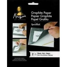 Black Graphite Transfer Paper - 2 sheets
