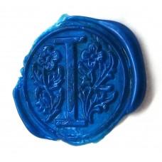 Ocean blue wax, gun stick