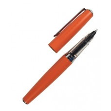 J Herbin Metal Rollerball Pen - Orange