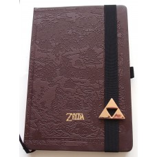 Legend of Zelda: Hyrule Map A5 Notebook